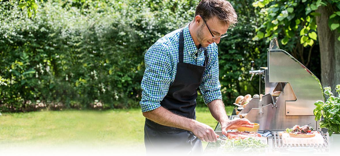 Grillen im Garten mit Manuel Weyer